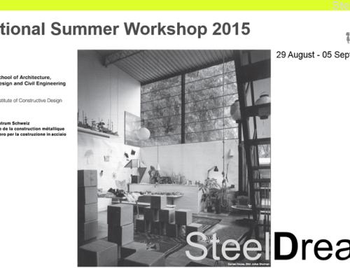 Internationaler Sommer-Workshop der ZHAW Winterthur zum Thema 'Re-Domesticizing Steel'