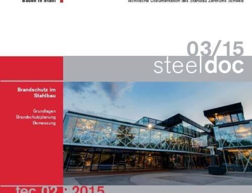 Neuerscheinung Oktober 2015 | tec 02:2015 Brandschutz im Stahlbau
