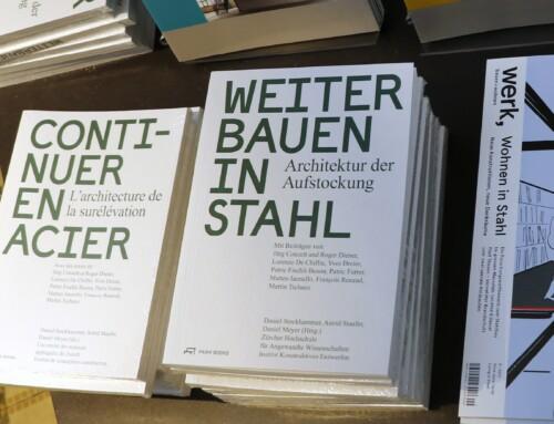 """Vernissage """"Weiterbauen in Stahl – Architektur der Aufstockung"""""""